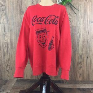Vintage Uniqlo Coca-Cola UT Red Novelty Sweatshirt